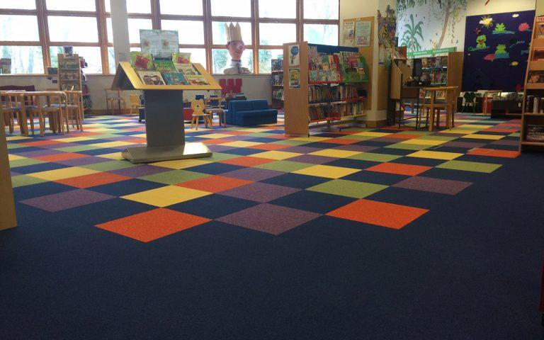 Commercial Carpet Tiles Belfast 1