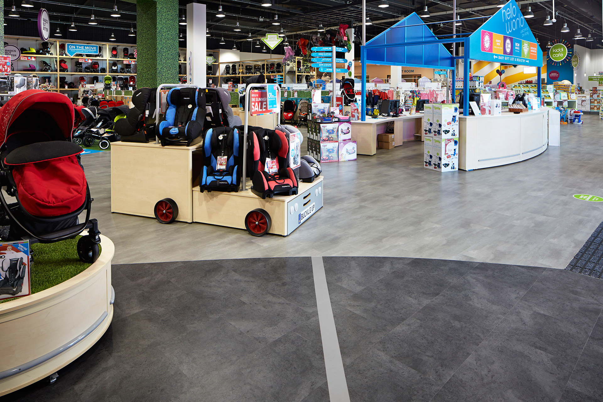 Retail Flooring Suppliers Belfast